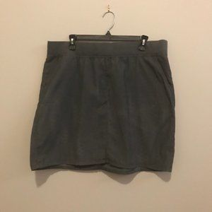 J Jill light weight corduroy skirt Large and tee